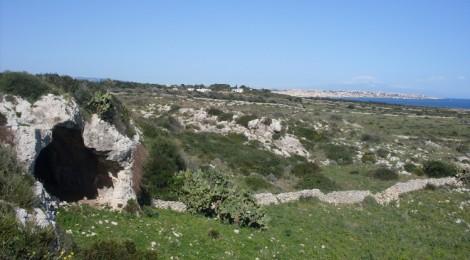 Ingresso Grotta Pellegrino - Foto A. Lucenti