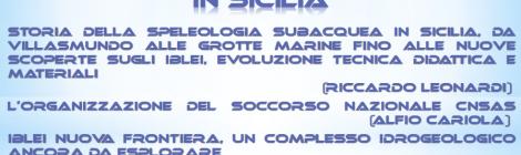 Serata speleosub - La speleologia subacquea in Sicilia